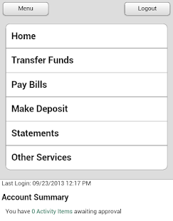 ONB Bank and Trust - Mobile - screenshot thumbnail