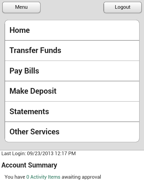 ONB Bank and Trust - Mobile - screenshot