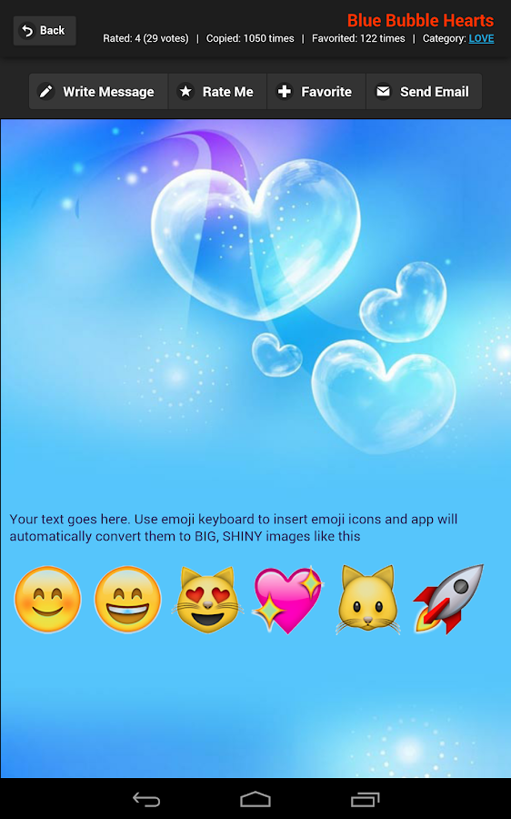 Email Backgrounds- screenshot