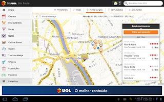 Screenshot of Guia UOL