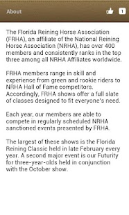 FRHA Reining - screenshot thumbnail