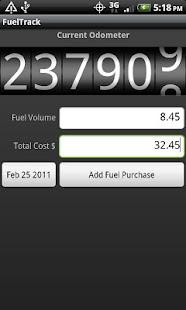 FuelTrack- screenshot thumbnail