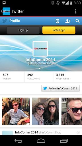 【免費商業App】InfoComm 2014-APP點子