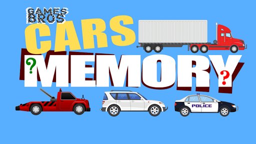 Cars Memory Matching for Kids