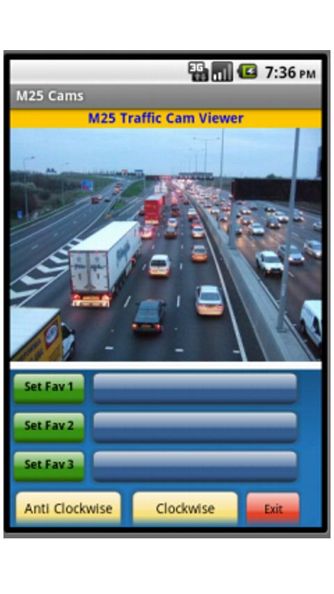 M25 Cams - screenshot