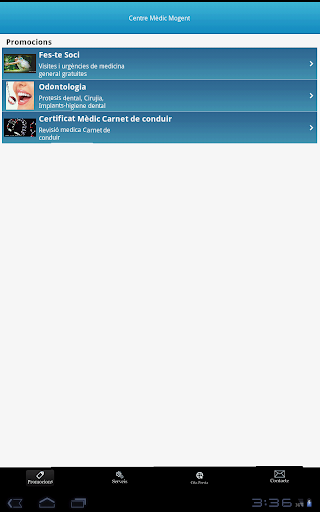 Centre Medic para tablet