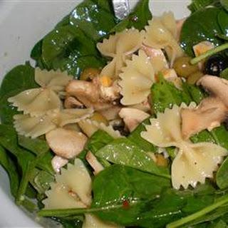 Spinach Pasta Salad.