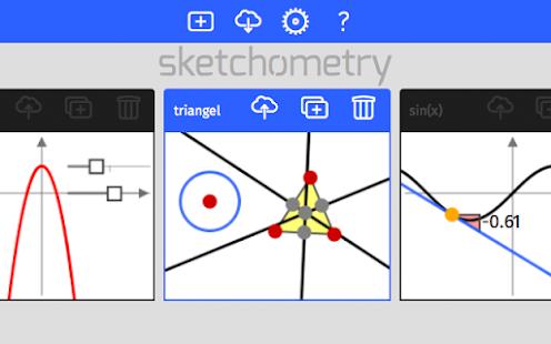 sketchometry - náhled