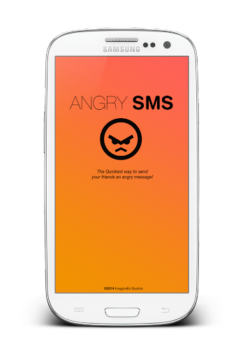Angry SMS 2014