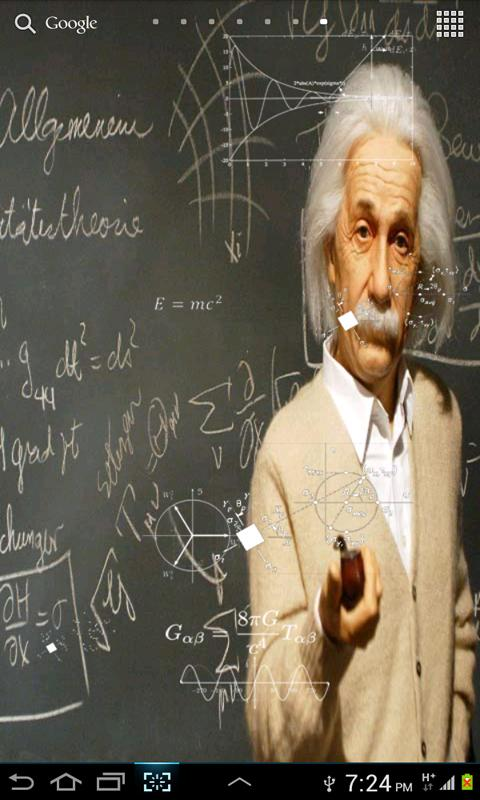 Einstein HD Live WallPaper- screenshot