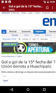 Chile Notícias - screenshot thumbnail