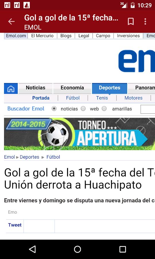 Chile Notícias - screenshot