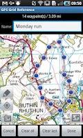 Screenshot of GPS   Grid Reference - Full