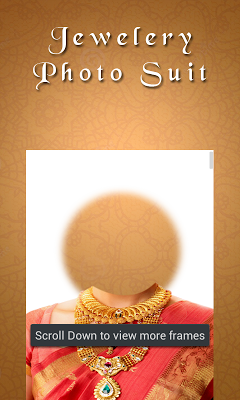 Jewelery Photo Suit Effect - screenshot