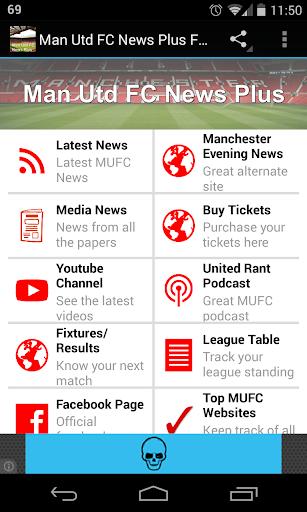 Man Utd FC News Plus Free