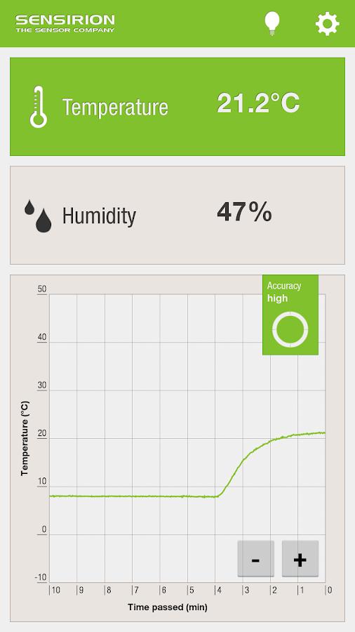 Ambient Temperature & Humidity - screenshot