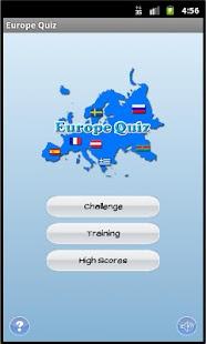 Europe Quiz Screenshot 1