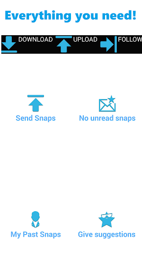 Save Upload Or Repost Snaps