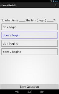 English Grammar Exercises - screenshot thumbnail