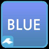 카카오톡 테마 - 기본 블루 테마 : 픽스토리스튜디오