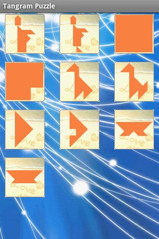 Tangram Puzzle- screenshot