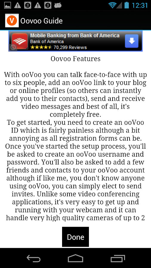 Oovoo Video Chat Guide - screenshot