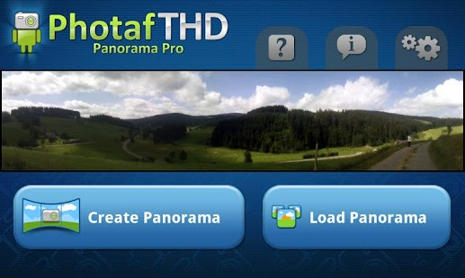 Photaf THD Panorama Pro - screenshot thumbnail