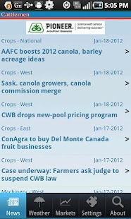 Canadian Cattlemen Mobile - screenshot thumbnail