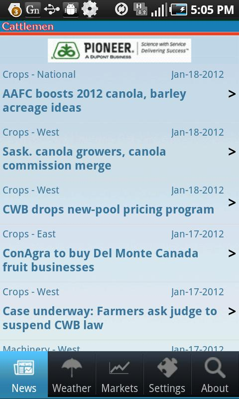 Canadian Cattlemen Mobile - screenshot