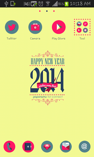 Happy NewYear go launcher