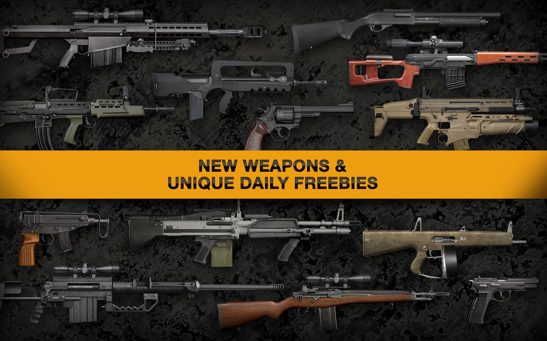 Screenshots of Weaphones™ Gun Sim Free Vol 2 for iPhone
