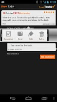 Screenshot of ToDo list - Private Tasks