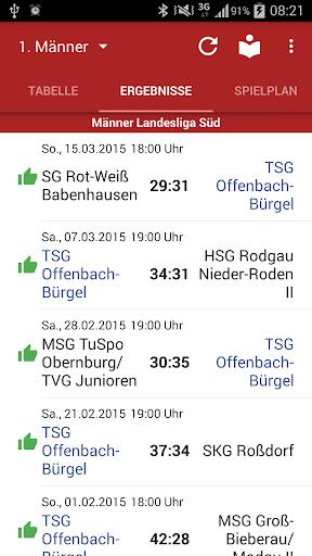 【免費運動App】TSG Offenbach-Bürgel Handball-APP點子