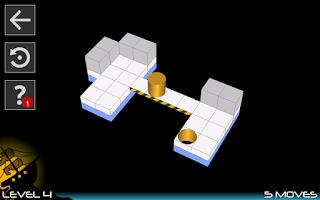 Screenshot of Bobbin 3D: brain puzzle