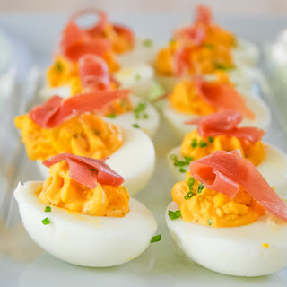 Spicy Deviled Eggs