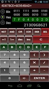 Hex Bin Dec Calculator Free - AppRecs