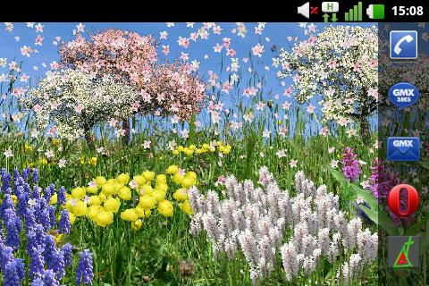 Spring Flowers Free Wallpaper- screenshot