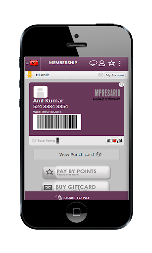 Impresario mLoyal App
