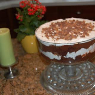 Chocolate Toffee Trifle.