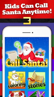 Santa's Magic Phone Call &Text- screenshot thumbnail