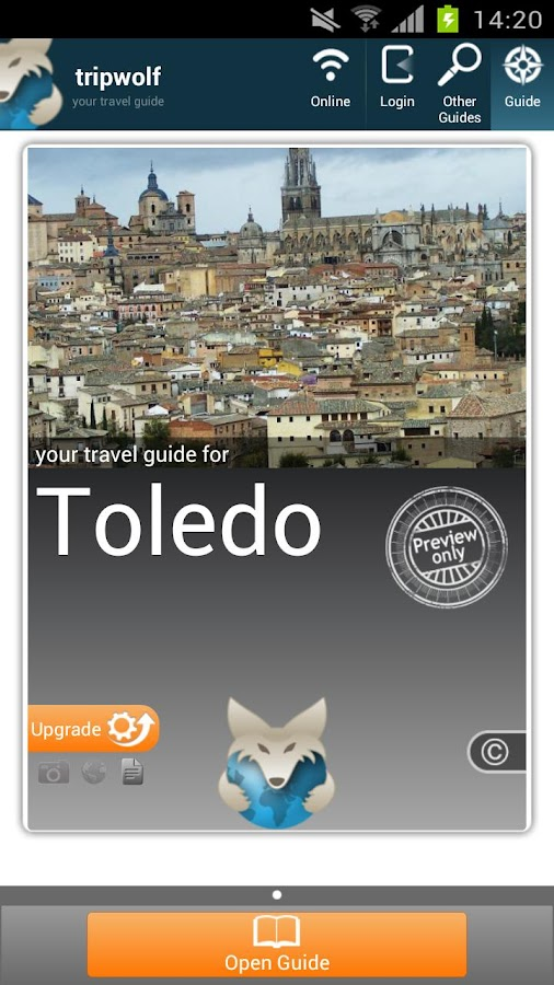 Toledo Highlights Guide - screenshot