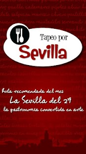 Tapeo por Sevilla- screenshot thumbnail
