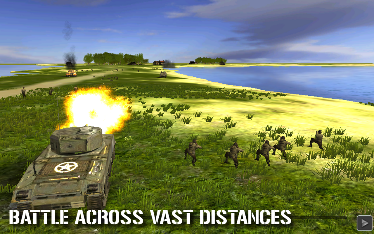 Combat Mission : Touch - screenshot