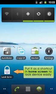 Lock Screen App - Donation- screenshot thumbnail
