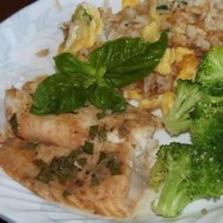 Broiled Sweet and Tangy Tilapia Recipe