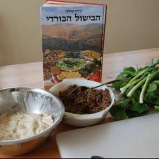 Stewed kubbeh - easy Middle Eastern dumplings