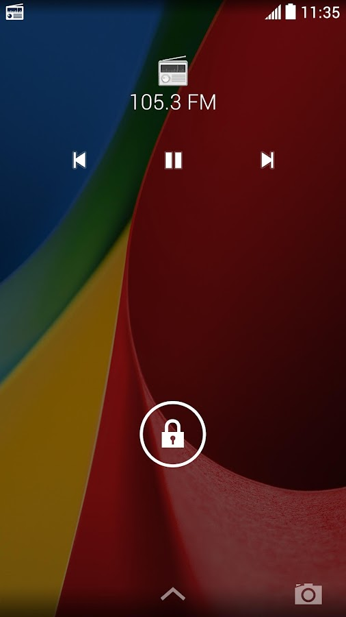 Motorola FM Radio - screenshot
