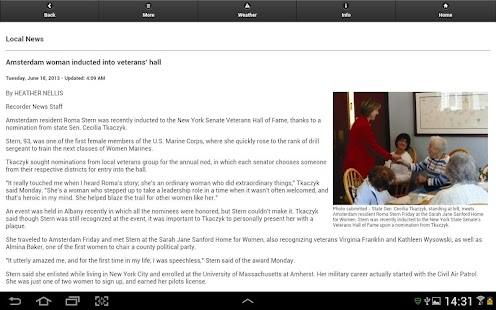Amsterdam Recorder (Tablet) - screenshot thumbnail