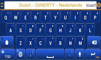 Screenshot of SlideIT Dutch QWERTY Pack