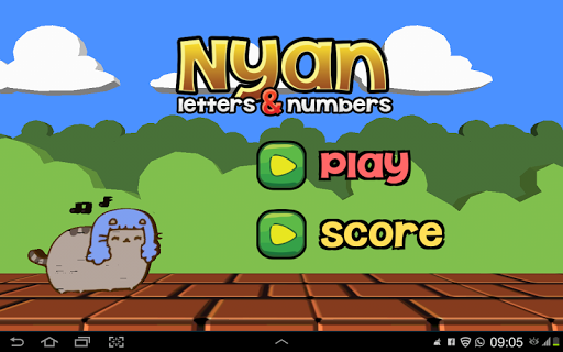 Nyan Letters Numbers